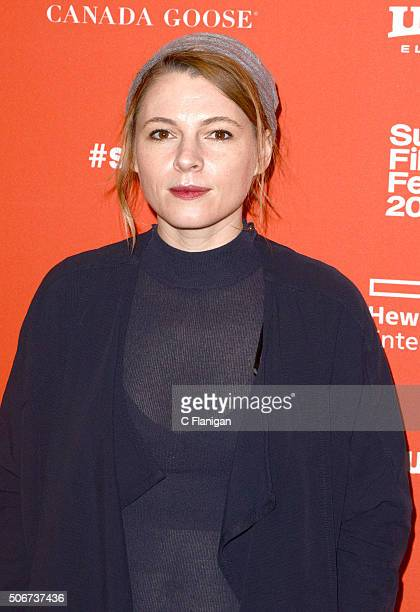 Actress Amy Seimetz attends 'Lovesong' Premiere during the 2016 Sundance Film Festival at Eccles Center Theatre on January 25 2016 in Park City Utah
