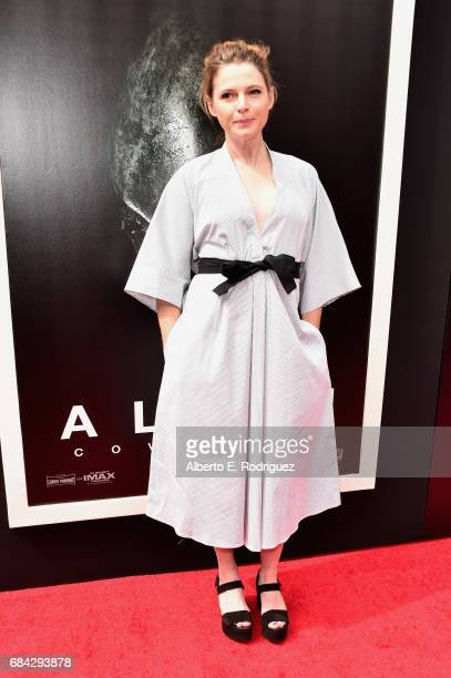 Actress Amy Seimetz attends Sir Ridley Scott's hand and footprint ceremony at TCL Chinese Theatre IMAX on May 17 2017 in Hollywood California