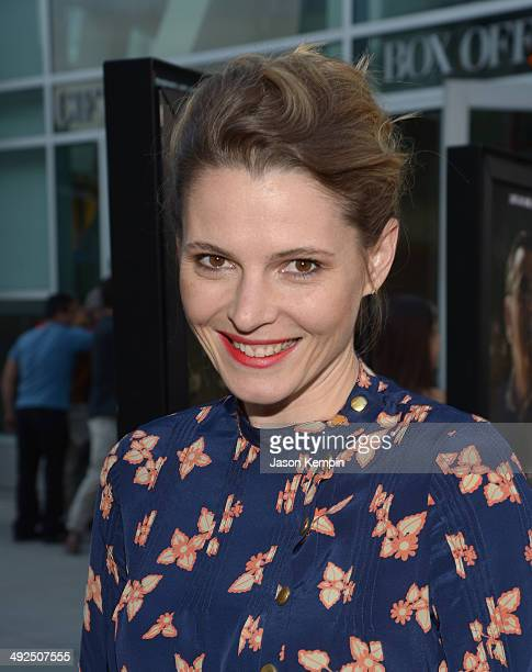 Actress Amy Seimetz attends the premiere of 'The Sacrament' at ArcLight Cinemas on May 20 2014 in Hollywood California