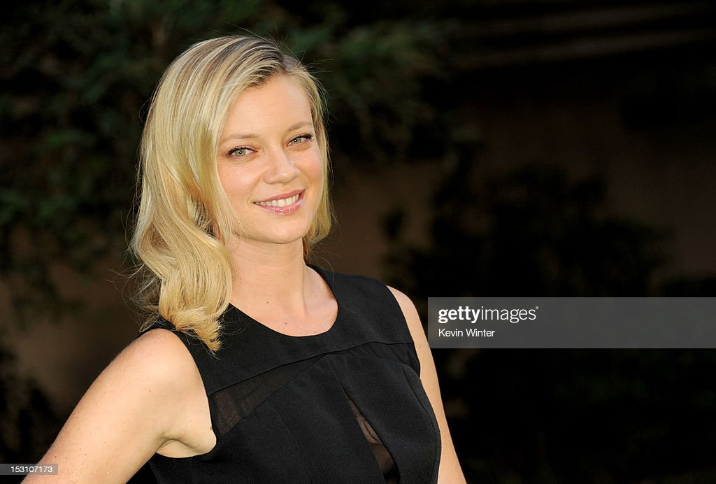 Actress Amy Smart arrives at the 2012 Environmental Media Awards at Warner Brothers Studios on September 29, 2012 in Burbank, California.