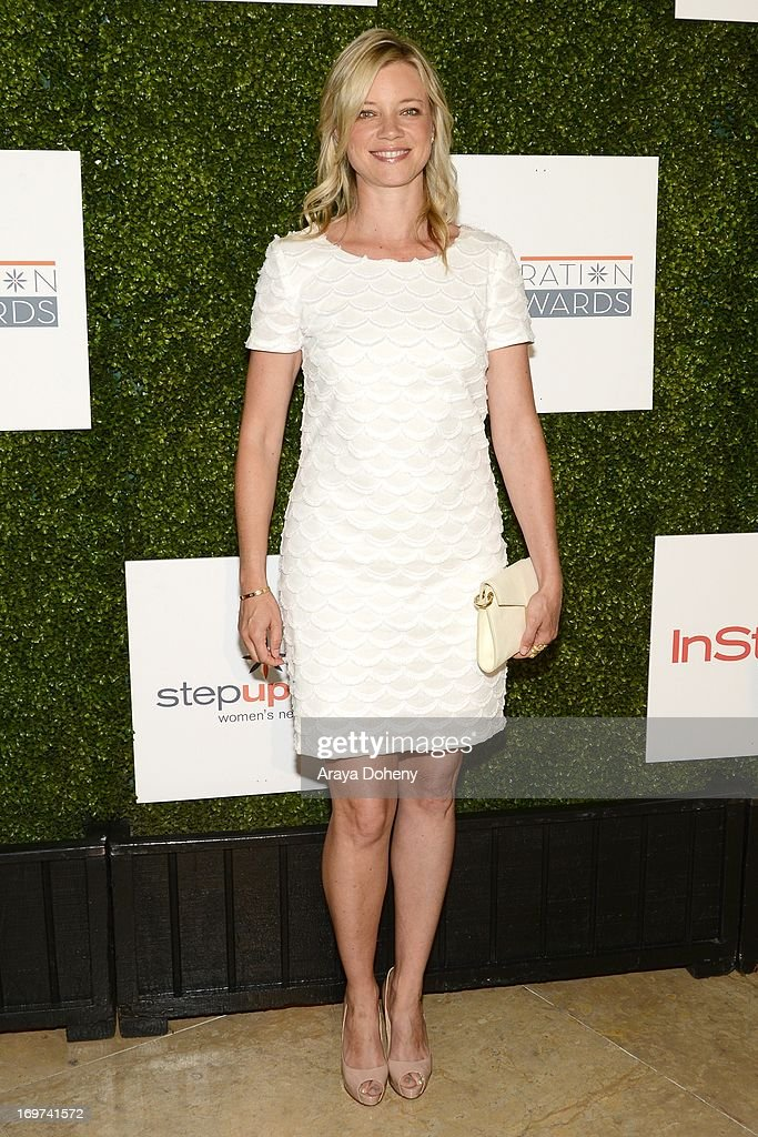 Actress <a gi-track='captionPersonalityLinkClicked' href=/galleries/search?phrase=Amy+Smart&family=editorial&specificpeople=239532 ng-click='$event.stopPropagation()'>Amy Smart</a> arrives at the Step Up Women's Network 10th annual Inspiration Awards at The Beverly Hilton Hotel on May 31, 2013 in Beverly Hills, California.