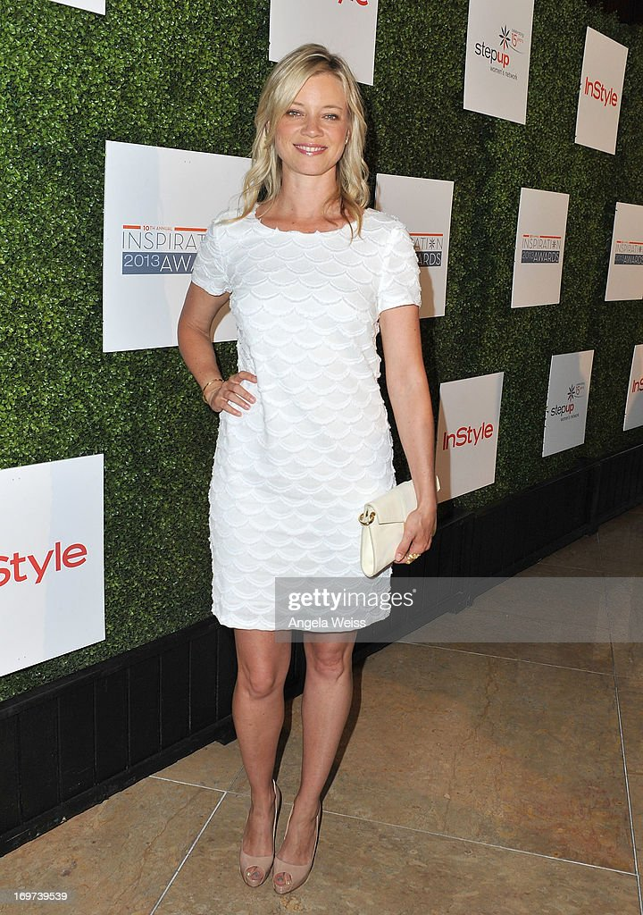 Actress <a gi-track='captionPersonalityLinkClicked' href=/galleries/search?phrase=Amy+Smart&family=editorial&specificpeople=239532 ng-click='$event.stopPropagation()'>Amy Smart</a> attends Step Up Women's Network 10th annual Inspiration Awards at The Beverly Hilton Hotel on May 31, 2013 in Beverly Hills, California.