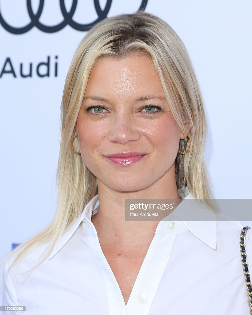 Actress Amy Smart attends the 1st annual Children Mending Hearts Style Sunday on June 9, 2013 in Beverly Hills, California.
