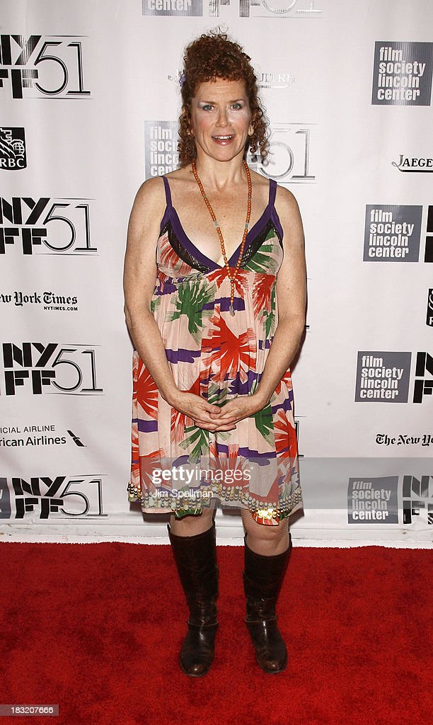 Actress Amy Stiller attends the Centerpiece Gala Presentation Of 'The Secret Life Of Walter Mitty' during the 51st New York Film Festival at Alice Tully Hall at Lincoln Center on October 5, 2013 in New York City.