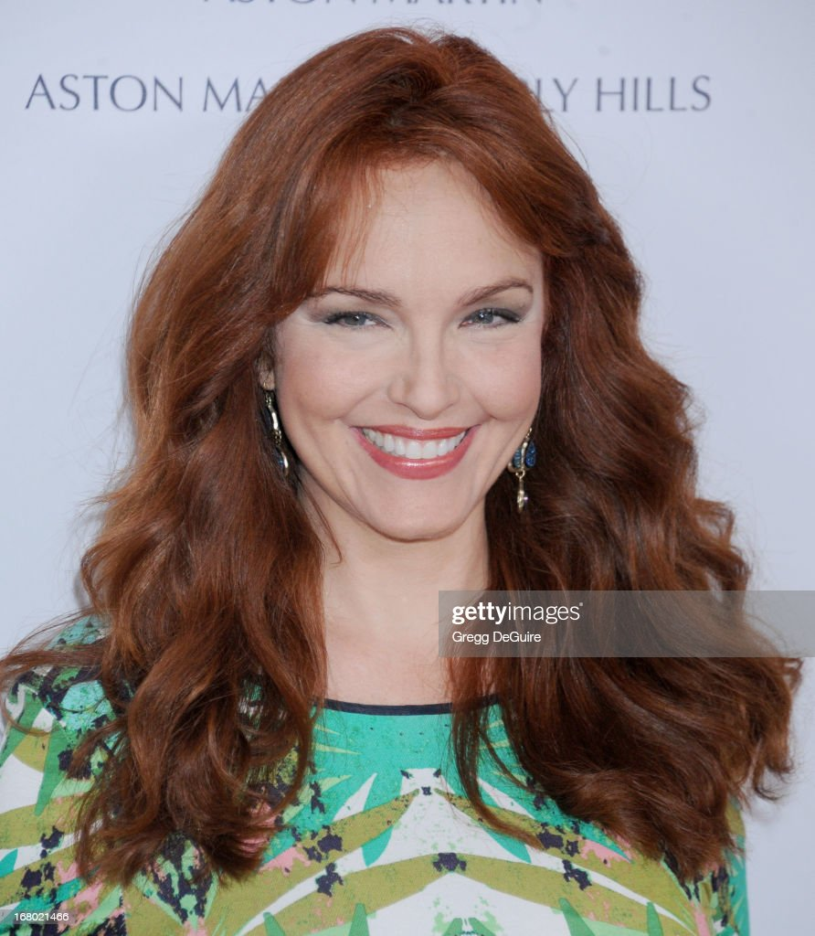 Actress Amy Yasbeck arrives at the 20th Annual Race To Erase MS Gala 'Love To Erase MS' at the Hyatt Regency Century Plaza on May 3, 2013 in Century City, California.