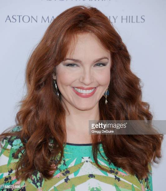 Actress Amy Yasbeck arrives at the 20th Annual Race To Erase MS Gala 'Love To Erase MS' at the Hyatt Regency Century Plaza on May 3 2013 in Century...