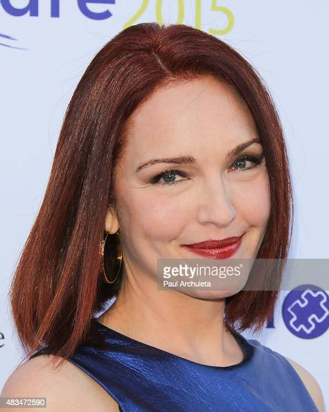 Actress Amy Yasbeck attends HollyRod Foundation's 17th Annual DesignCare Gala at The Lot Studios on August 8 2015 in Los Angeles California