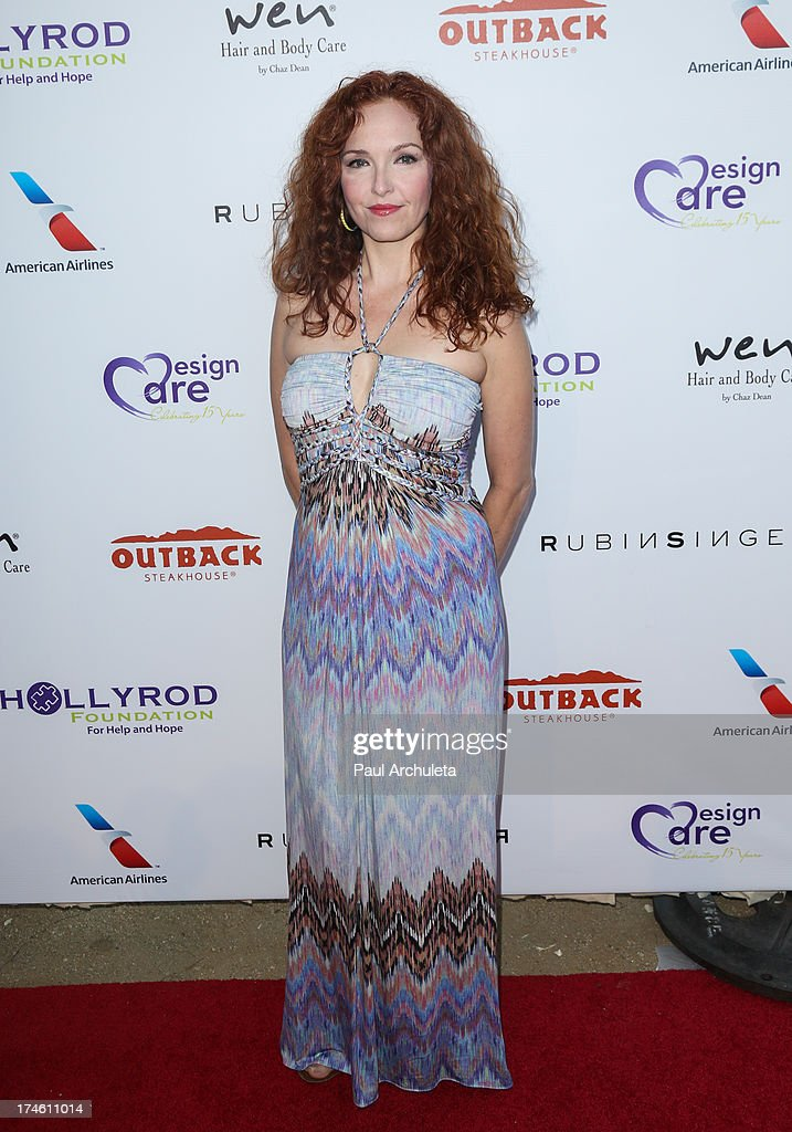 Actress Amy Yasbeck attends the 15th annual DesignCare charity event on July 27, 2013 in Malibu, California.