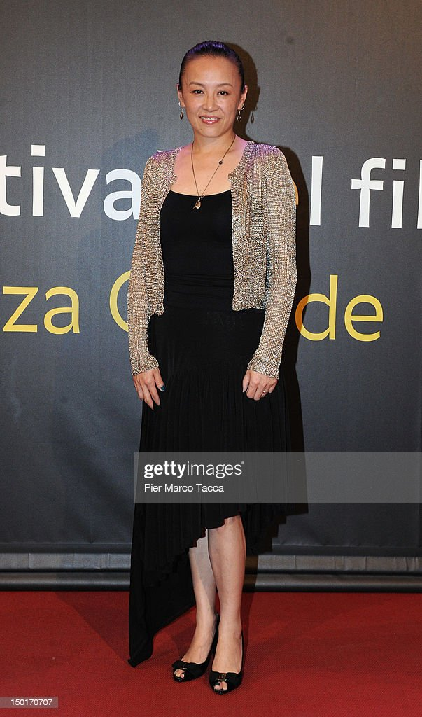 Actress An Nai attends the winners red carpet during the 65th Locarno Film Festival on August 11, 2012 in Locarno, Switzerland.