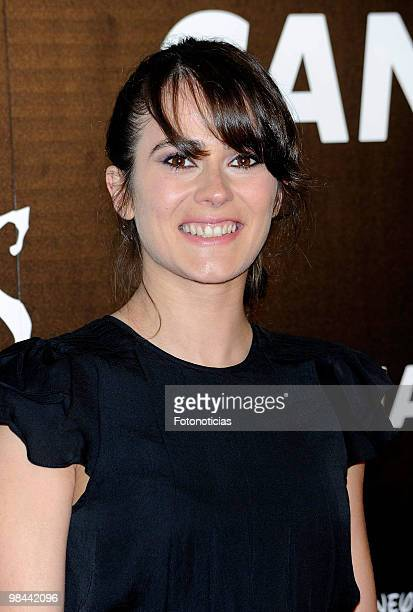 Actress Ana Allen attends 'Alicia en el Pais de las Maravillas' premiere at Proyecciones Cinema on April 13 2010 in Madrid Spain