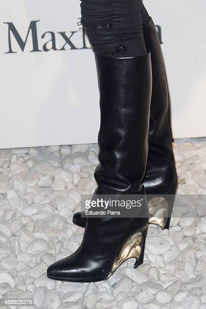 Actress Ana Allen attends Santiago del Palacio new collection presentation photocall at Association of Architects on November 13 2014 in Madrid Spain