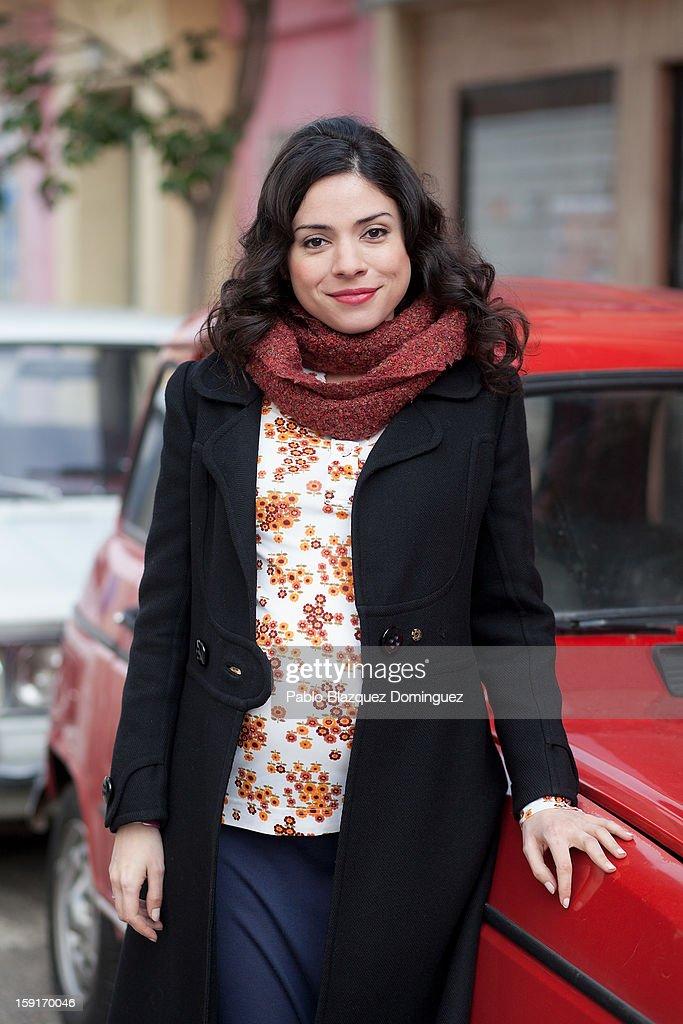 Actress Ana Arias attends 'Cuentame Como Paso' 14th Season presentation at Estudios Grupo Ganga on January 9, 2013 in Pinto, Spain.