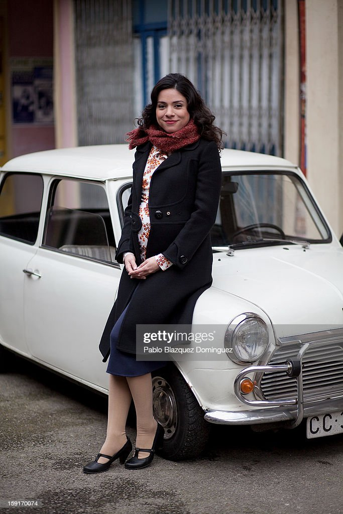 Actress Ana Arias attends 'Cuentame Como Paso' 14th Season presentation at Estudios Grupo Ganga on January 9, 2013 in Pinto, Spain.