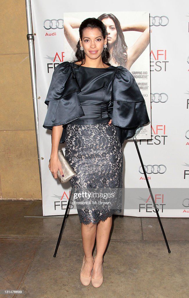 Actress Ana Claudia Talancon arrives at the 'Miss Bala' Centerpiece Gala during AFI FEST 2011 presented by Audi at the Egyptian Theatre on November 4, 2011 in Hollywood, California.