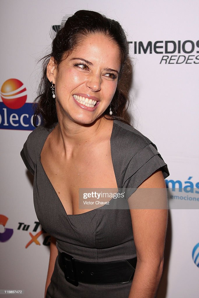 Actress <a gi-track='captionPersonalityLinkClicked' href=/galleries/search?phrase=Ana+Claudia+Talancon&family=editorial&specificpeople=235430 ng-click='$event.stopPropagation()'>Ana Claudia Talancon</a> attends the 'Mujeres Asesinas' TV show launch on June 13, 2008 at the Lunario del Auditorio Nacional in Mexico City.