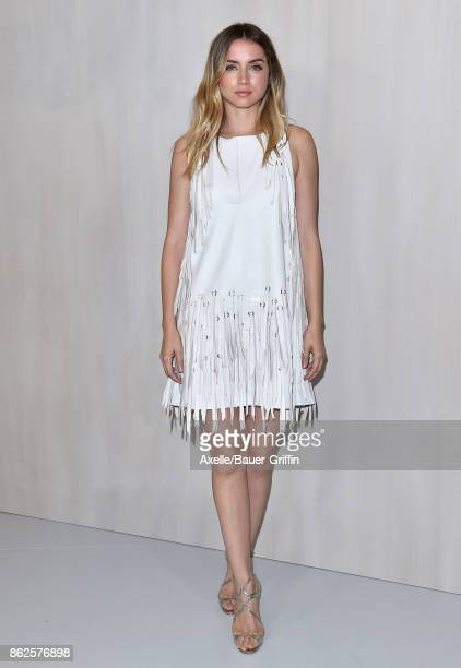 Actress Ana de Armas arrives at Hammer Museum Gala in the Garden on October 14 2017 in Westwood California