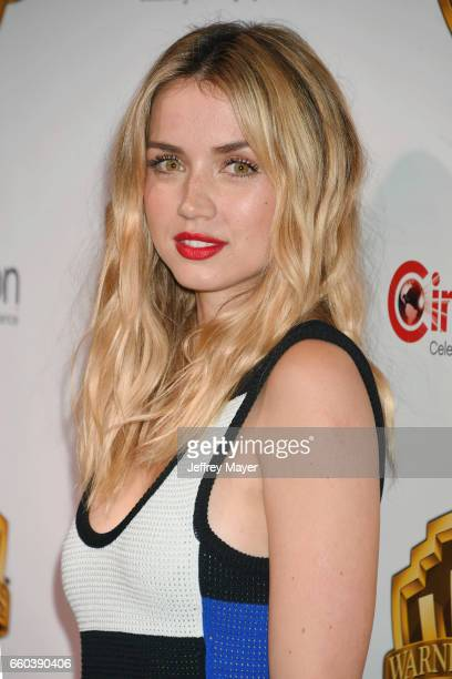 Actress Ana De Armas arrives at the CinemaCon 2017 Warner Bros Pictures presentation of their upcoming slate of films at The Colosseum at Caesars...