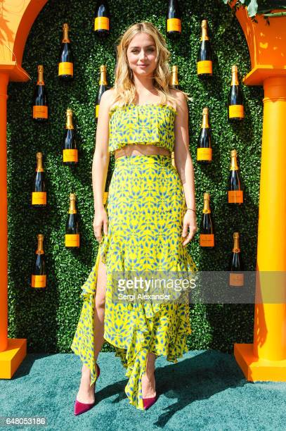 Actress Ana de Armas attends Veuve Clicquot hosts Third Annual Clicquot Carnaval supporting the Perez Art Museum Miami in Museum Park on March 4 2017...