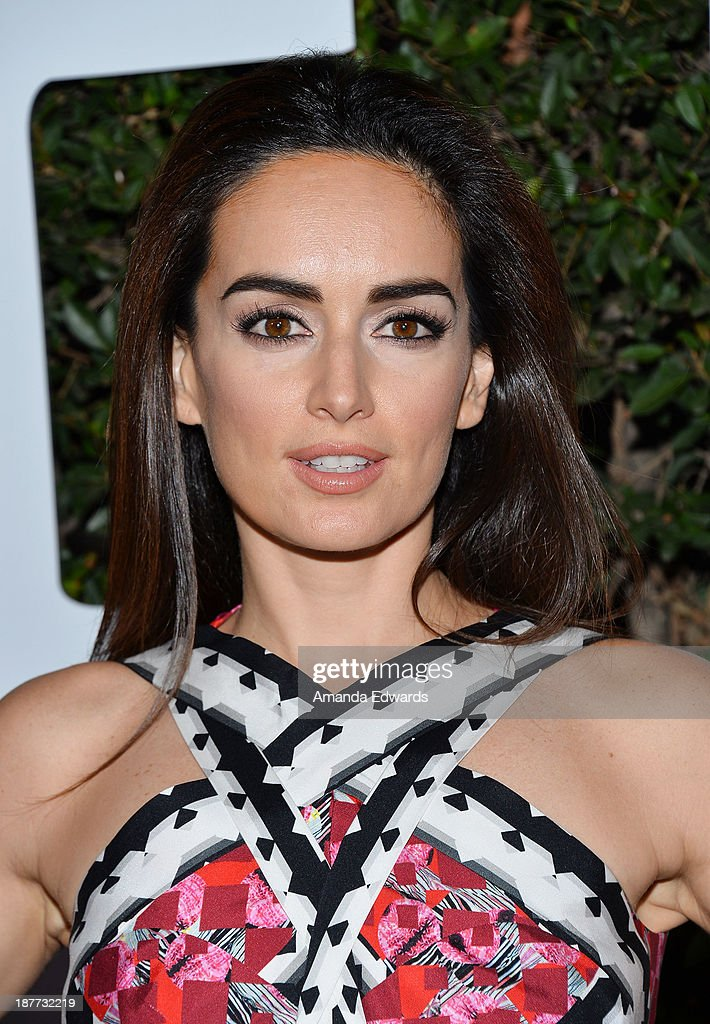 Actress <a gi-track='captionPersonalityLinkClicked' href=/galleries/search?phrase=Ana+de+la+Reguera&family=editorial&specificpeople=221458 ng-click='$event.stopPropagation()'>Ana de la Reguera</a> arrives at the Los Angeles premiere of 'Mandela: Long Walk To Freedom' at ArcLight Cinemas Cinerama Dome on November 11, 2013 in Hollywood, California.