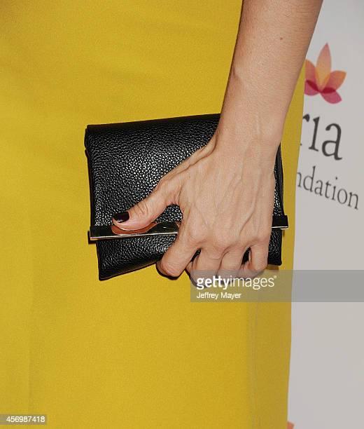 Actress Ana De La Reguera at Eva Longoria's Foundation dinner at Beso on October 9 2014 in Hollywood California