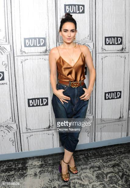 Actress Ana de la Reguera attends Build Series to discuss 'Everything Everything' at Build Studio on May 1 2017 in New York City