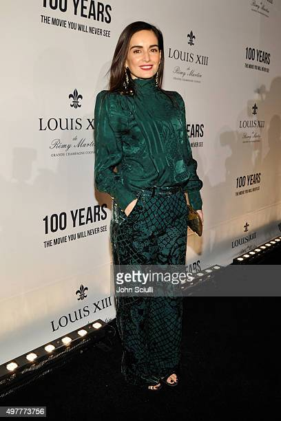 Actress Ana de la Reguera attends Louis XIII Celebration of '100 Years' The Movie You Will Never See starring John Malkovich at a private residence...