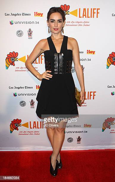 Actress Ana De La Reguera attends The 2013 Los Angeles Latino International Film Festival Closing Night Premiere of 'Nosotros Los Nobles' at The...