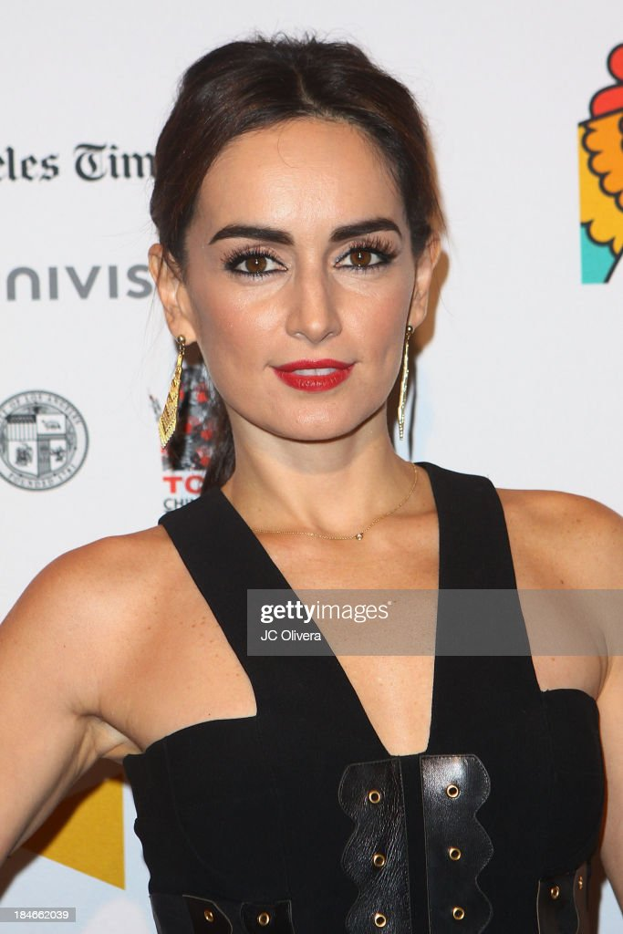 Actress Ana De La Reguera attends The 2013 Los Angeles Latino International Film Festival - Closing Night Premiere of 'Nosotros Los Nobles' at The Orpheum Theatre on October 14, 2013 in Los Angeles, California.