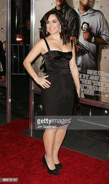 Actress Ana de la Reguera attends the premiere of 'Cop Out' at AMC Loews Lincoln Square 13 on February 22 2010 in New York City