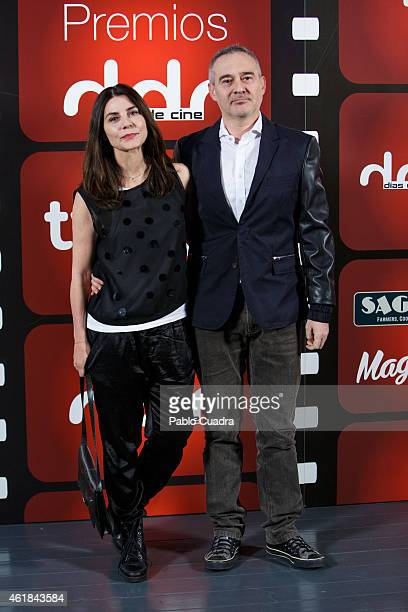 Actress Ana Fernandez attends the 'Dias de Cine' awards ceremony at the 'Cineteca' on January 20 2015 in Madrid Spain