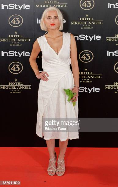 Actress Ana Fernandez attends the 'El Jardin del Miguel Angel' party photocall at Miguel Angel hotel on May 24 2017 in Madrid Spain