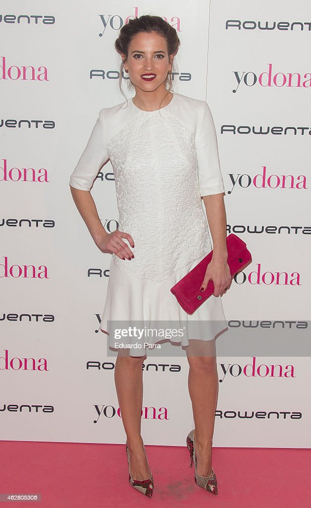 Actress Ana Fernandez attends 'Yo Dona' party photocall at Shoko disco on February 5 2015 in Madrid Spain