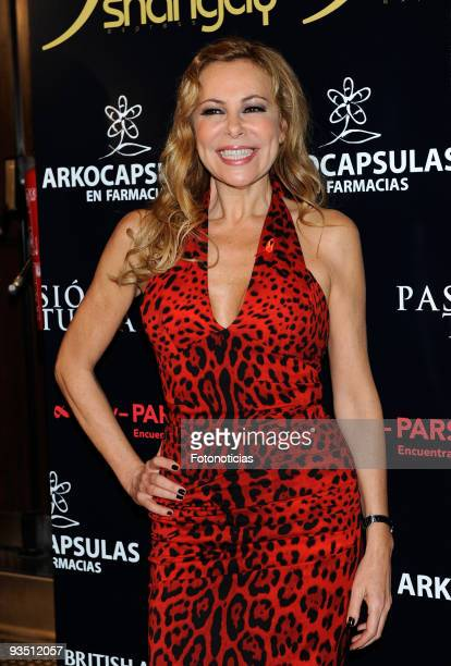Actress Ana Garcia Obregon attends 'Shangay Awards 2009' at Pacha Club on November 30 2009 in Madrid Spain