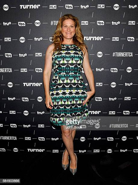 Actress Ana Gastayer of 'People of Earth' attends the TCA Turner Summer Press Tour 2016 Presentation at The Beverly Hilton Hotel on July 31 2016 in...
