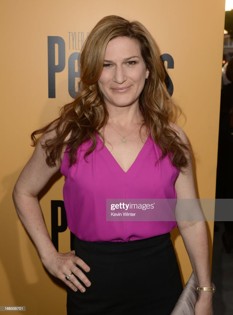 Actress <a gi-track='captionPersonalityLinkClicked' href=/galleries/search?phrase=Ana+Gasteyer&family=editorial&specificpeople=213902 ng-click='$event.stopPropagation()'>Ana Gasteyer</a> arrives at the premiere of 'Peeples' presented by Lionsgate Film and Tyler Perry at ArcLight Hollywood on May 8, 2013 in Hollywood, California.