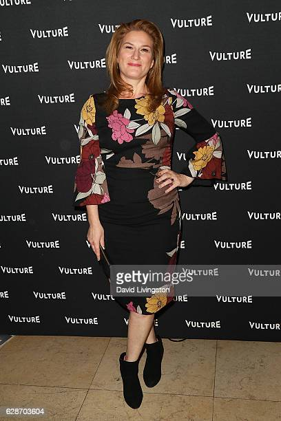 Actress Ana Gasteyer arrives at the Vulture Awards Season Party at the Sunset Tower Hotel on December 8 2016 in West Hollywood California