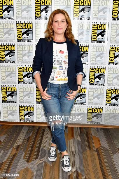Actress Ana Gasteyer at the 'People Of Earth' Press Line during ComicCon International 2017 at Hilton Bayfront on July 21 2017 in San Diego California