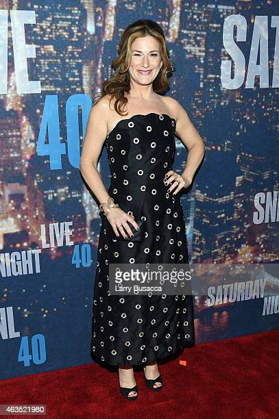 Actress Ana Gasteyer attends SNL 40th Anniversary Celebration at Rockefeller Plaza on February 15 2015 in New York City
