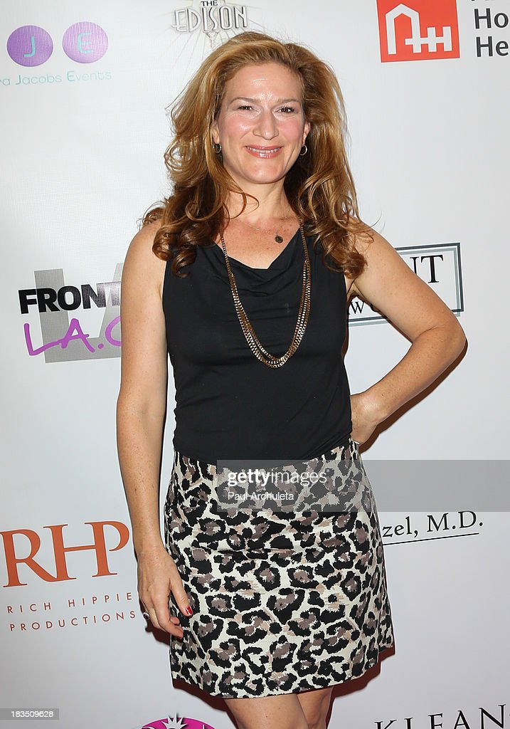 Actress <a gi-track='captionPersonalityLinkClicked' href=/galleries/search?phrase=Ana+Gasteyer&family=editorial&specificpeople=213902 ng-click='$event.stopPropagation()'>Ana Gasteyer</a> attends the 11th annual Best In Drag Show at The Orpheum Theatre on October 6, 2013 in Los Angeles, California.