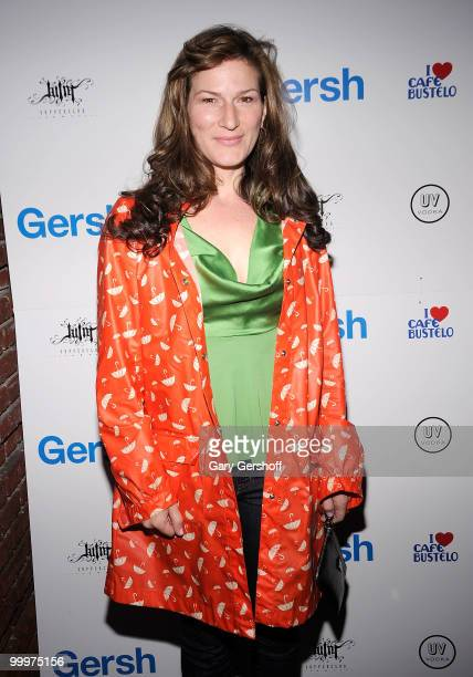 Actress Ana Gasteyer attends the Gersh Agency's 2010 UpFronts and Broadway season cocktail celebration at Juliet Supper Club on May 18 2010 in New...