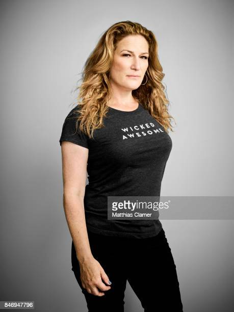 Actress Ana Gasteyer from 'People of Earth' is photographed for Entertainment Weekly Magazine on July 22 2016 at Comic Con in the Hard Rock Hotel in...