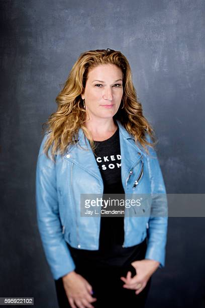 Actress Ana Gasteyer of 'People of Earth' is photographed for Los Angeles Times at San Diego Comic Con on July 22 2016 in San Diego California