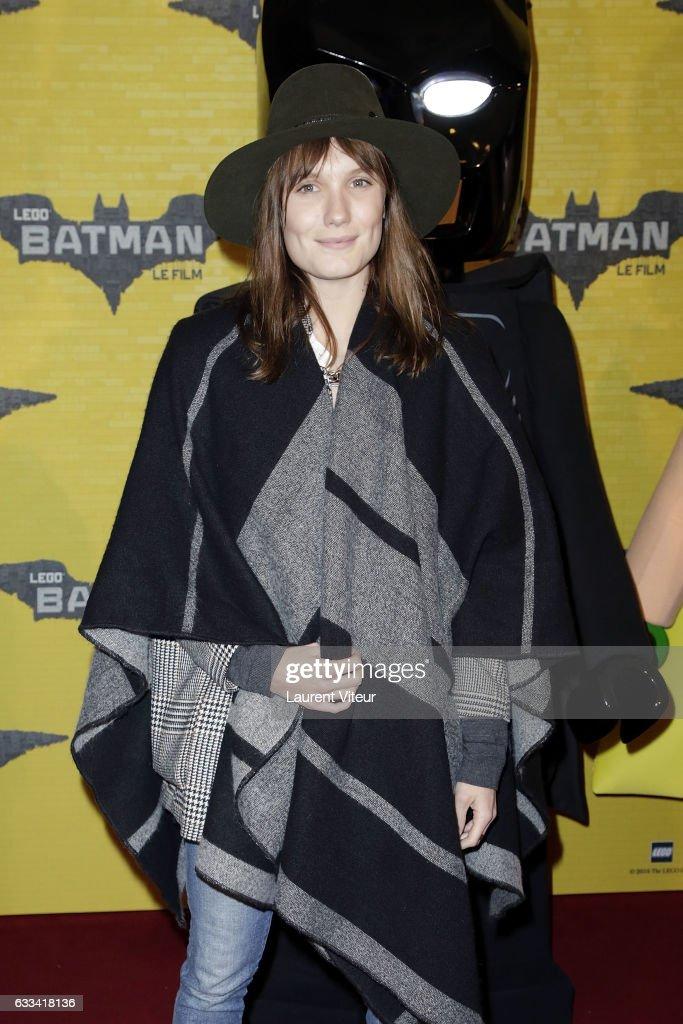 Actress Ana Girardot attends 'Lego Batman' Paris Premiere at Le Grand Rex on February 1, 2017 in Paris, France.