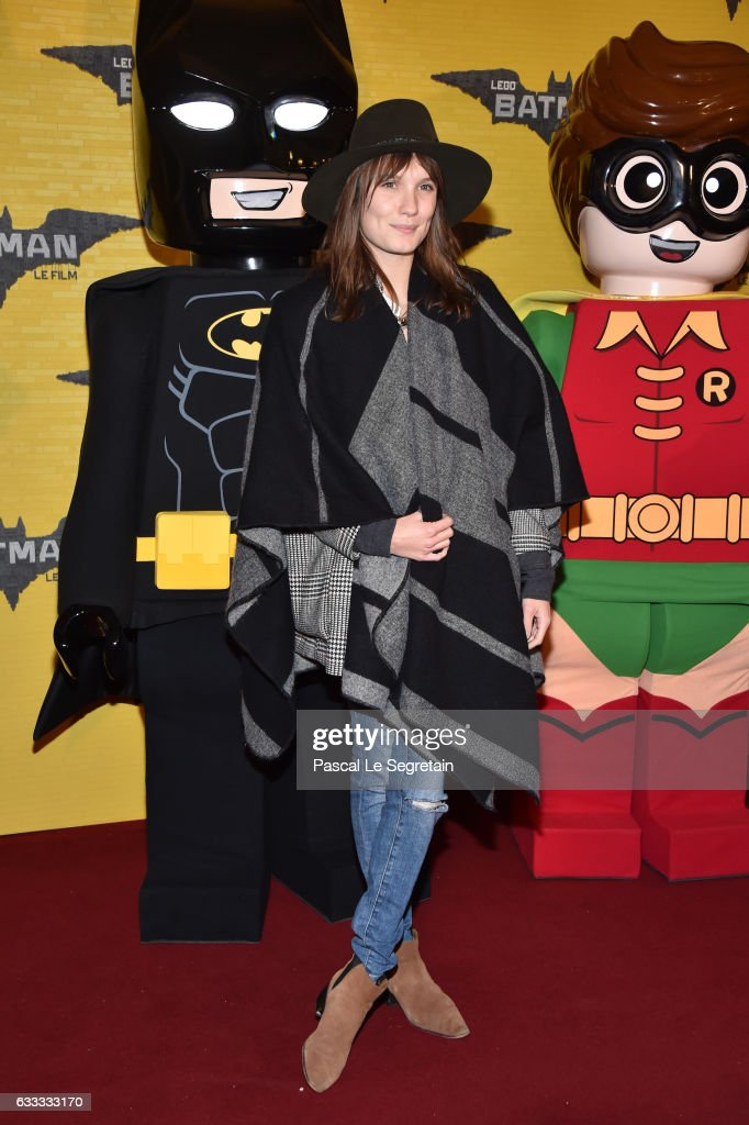 Actress Ana Girardot attends 'Lego Batman' Premiere at Le Grand Rex on February 1, 2017 in Paris, France.