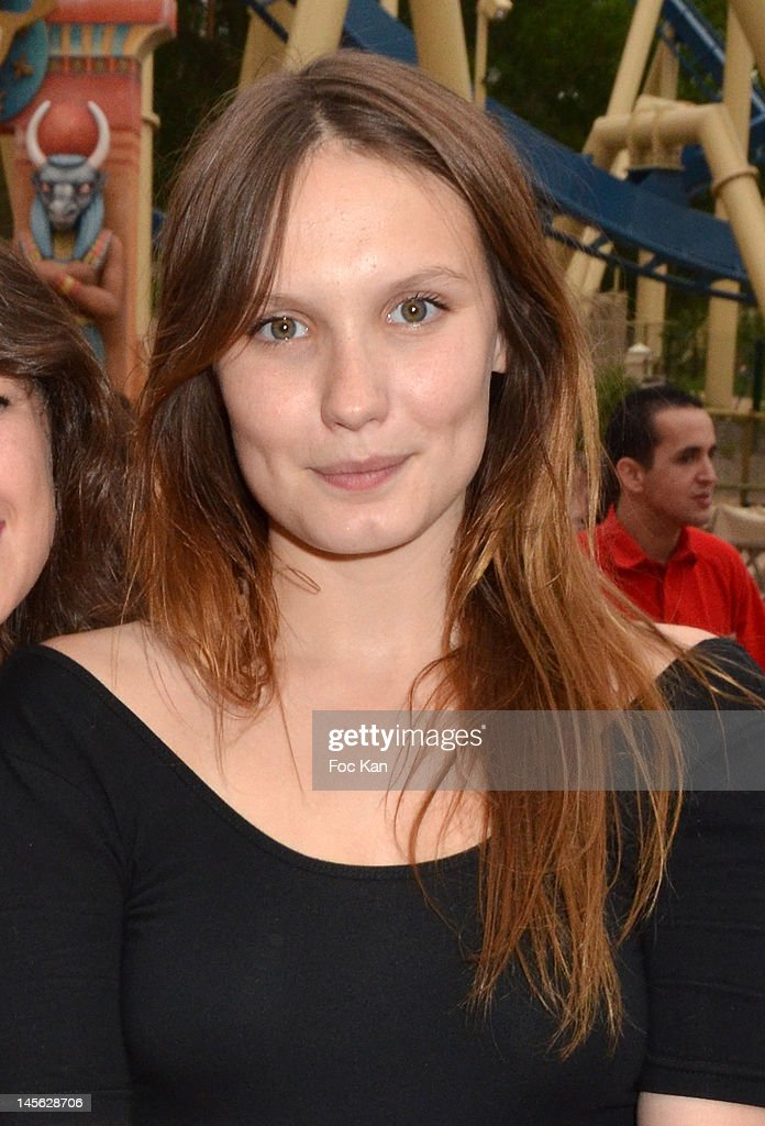 Actress Ana Girardot attends the 'Oziriz' New Game Launch at the Parc Asterix on June 2, 2012 in Paris, France.