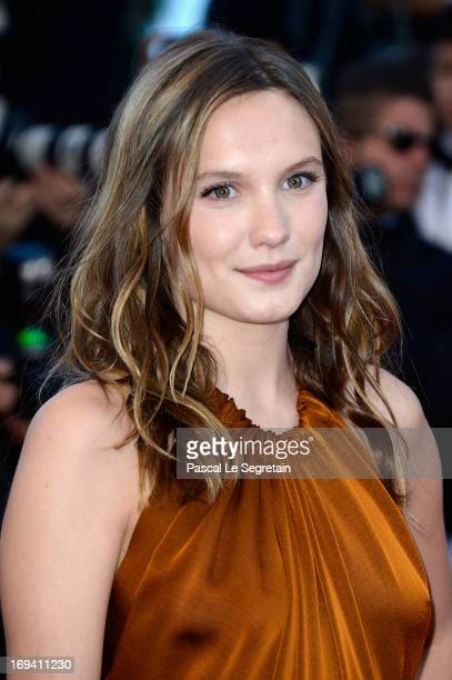 Actress Ana Girardot attends the 'The Immigrant' premiere during The 66th Annual Cannes Film Festival at the Palais des Festivals on May 24 2013 in...