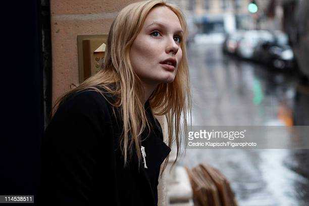 Actress Ana Girardot is photographed for Madame Figaro on March 27 2011 in Paris France Published image Figaro ID 100351009 CREDIT MUST READ Cedric...