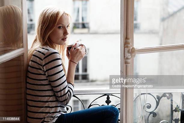 Actress Ana Girardot is photographed for Madame Figaro on March 27 2011 in Paris France Published image Figaro ID 100351011 CREDIT MUST READ Cedric...