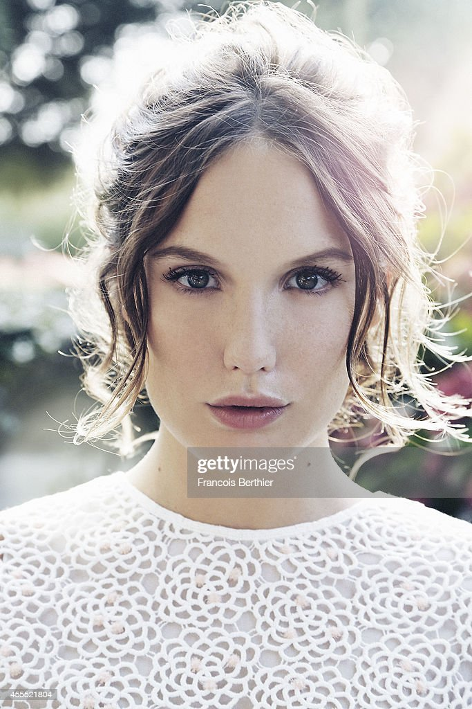 Actress <a gi-track='captionPersonalityLinkClicked' href=/galleries/search?phrase=Ana+Girardot&family=editorial&specificpeople=6991847 ng-click='$event.stopPropagation()'>Ana Girardot</a> is photographed for Self Assignment on September 13, 2014 in Deauville for the American Film Festival, France.