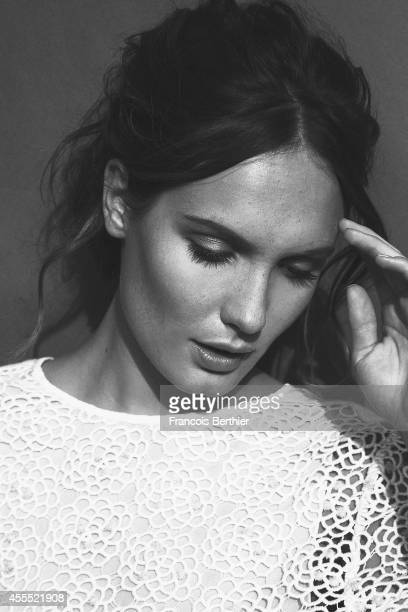 Actress Ana Girardot is photographed for Self Assignment on September 13 2014 in Deauville for the American Film Festival France